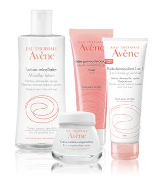 Βασική περιποίηση για ευαίσθητο δέρμα Avène